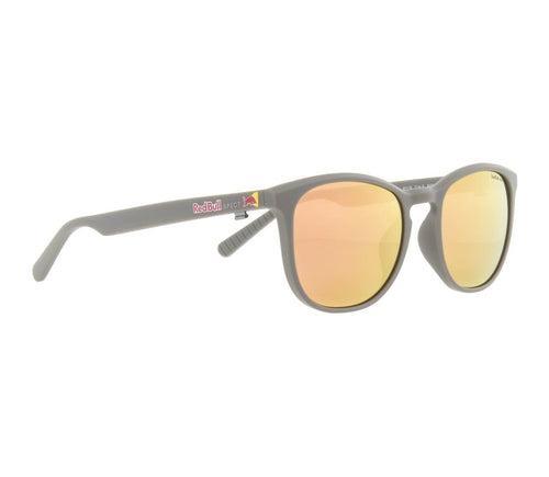 Red Bull SPECT Steady Sunglasses Warm Grey/Brown with Peach Mirror Polarised - futureproof-life