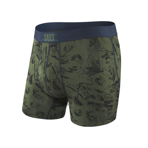 Vibe Boxer Modern Fit - Green Fisherman // Futureproof.life