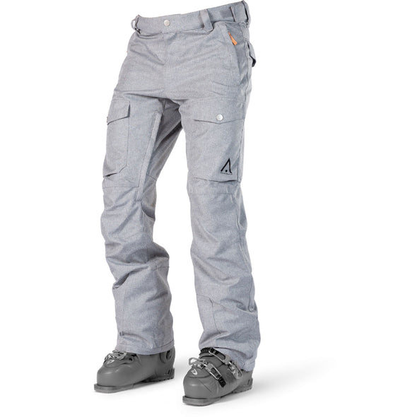 WearColour Mens SHADOW Pant in Grey Melange