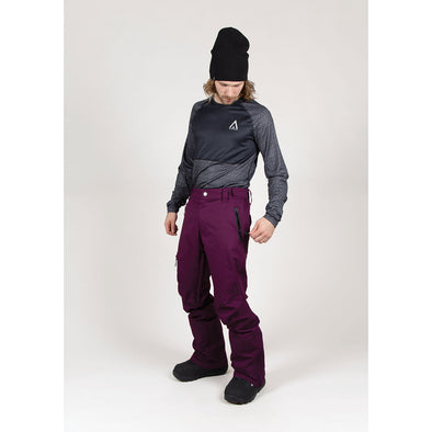 Wearcolour Sharp Pant, Deep Purple - FW2021 Sample