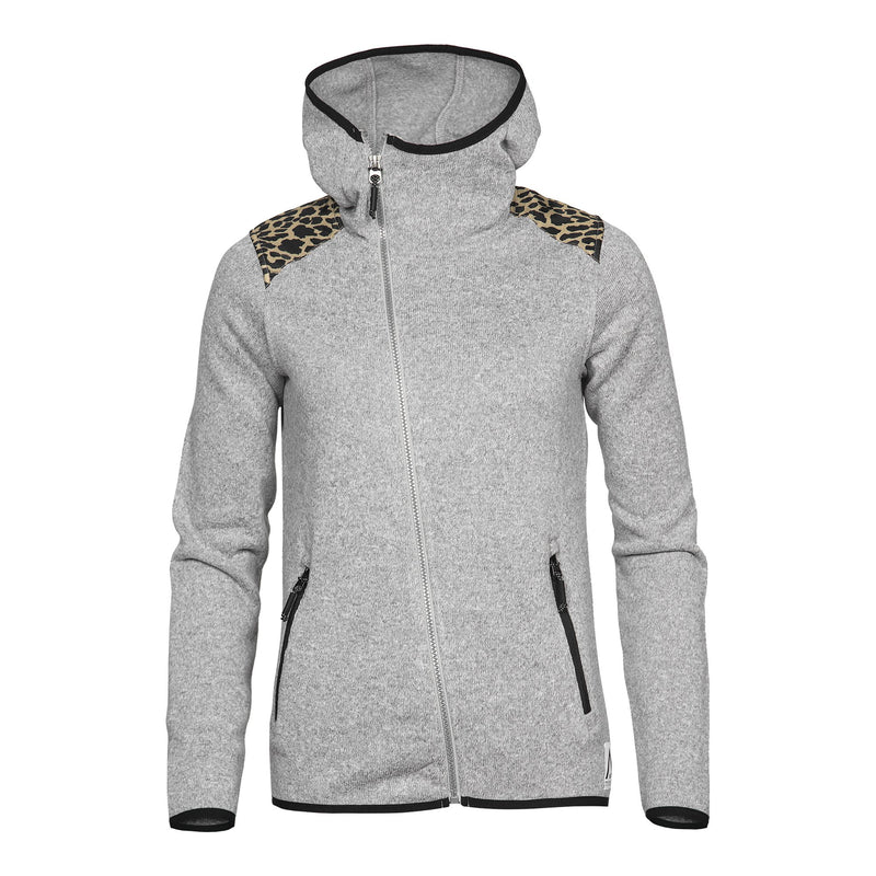 Wear Colour Snug Hood - Grey Melange