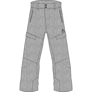 Wearcolour Tilt Pant, Grey Melange - FW2021 Sample