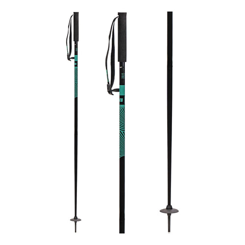 TRIAD Womens Ski Poles Teal - FW1920