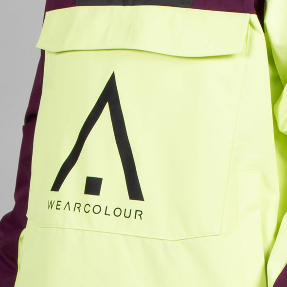 Wearcolour Wear Anorak - Acid - FW2021 Sample