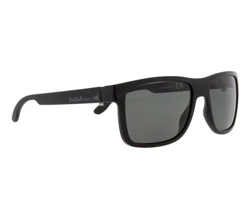 Red Bull SPECT WING 1 Sunglasses Shiny Black/Matt Black Temple/Smoke Polarised - futureproof-life
