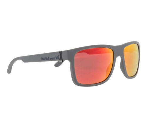 Red Bull SPECT WING 1 Sunglasses Matt Dark Grey/Smoke with Red Mirror Polarised - futureproof-life