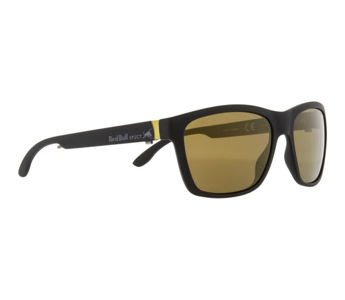 Red Bull SPECT WING 2 Sunglasses Matt Black/Brown with Gold Mirror Polarised - futureproof-life