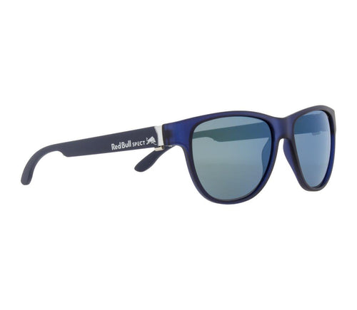 Red Bull SPECT WING 3 Sunglasses Matt Dark Blue/Smoke with Green Mirror Polarised - futureproof-life