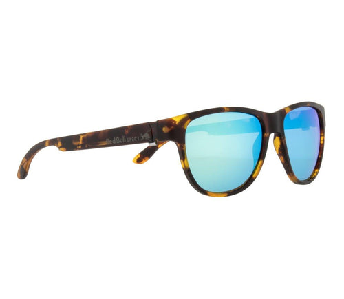 Red Bull SPECT WING 3 Sunglasses Matt Tortoise/Green with Green Revo Polarised - futureproof-life