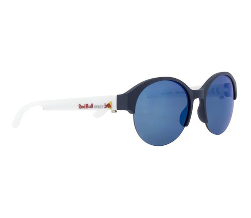 Red Bull SPECT WING 5 Sunglasses Dark Blue/Smoke with Blue Revo Polarised - futureproof-life