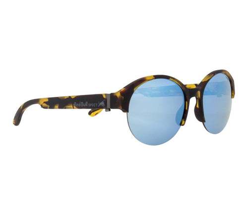 Red Bull SPECT WING 5 Sunglasses Havanna/Smoke with Blue Flash Polarised - futureproof-life