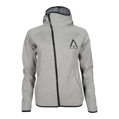 Wear Colour Womens Bond Hood - Grey Melange - Futureproof.life