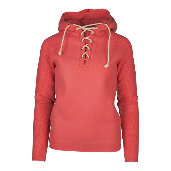 Women's Boiled Hoodie Laced - Weathered Red