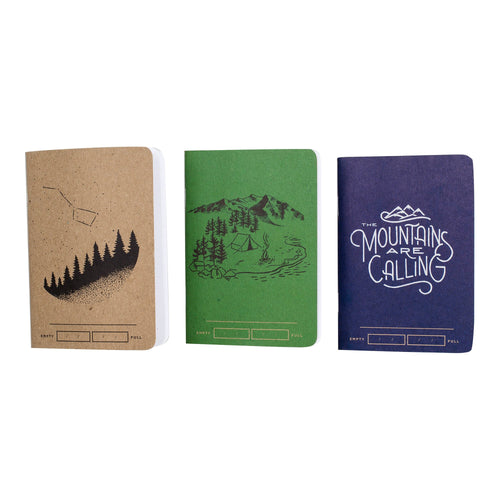 Adventure Bound Notebook - 3-Pack // Futureproof.life