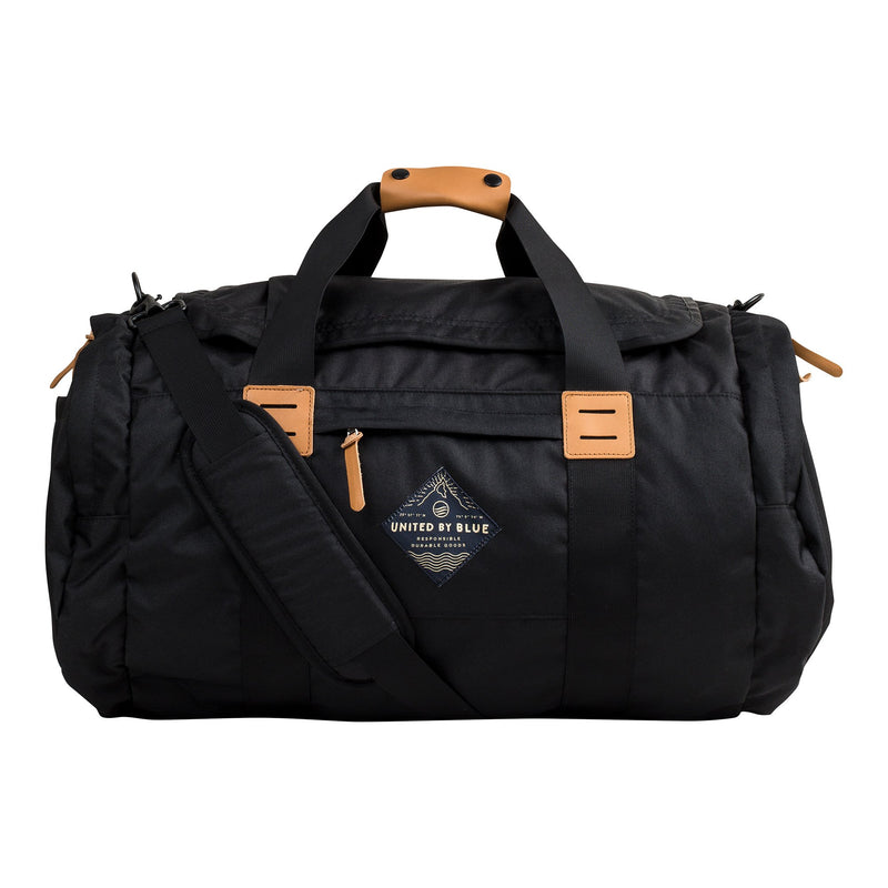55L Arc Duffle  - Black // Futureproof.life