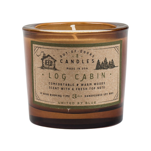Out-Of-Doors 3Oz Candle - Log Cabin // Futureproof.life