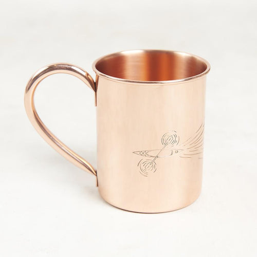 Paddle Out Copper Mug - 14 OZ // Futureproof.life
