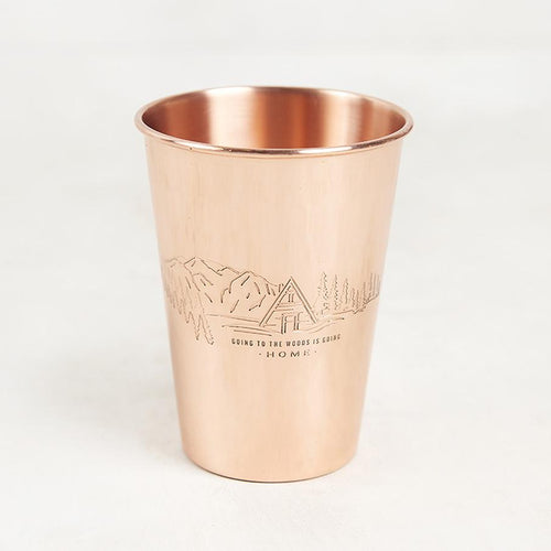 To The Woods Copper Tumbler - 16 OZ // Futureproof.life