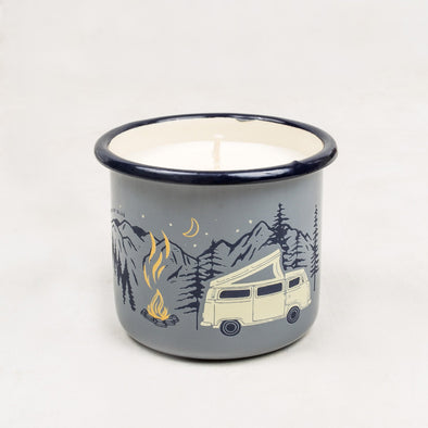 Road Trip Enamel Candle Mug - futureproof-life