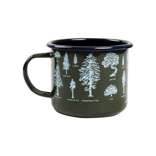 United By Blue Evergreen Enamel Steel Mug - futureproof-life