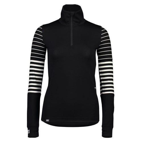 Cornice Half Zip - Black / Thick Stripe / Thin Stripe - XS - FW1920 - futureproof-life