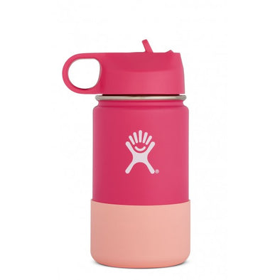 Hydro Flask 12 oz Kids Wide Mouth with Straw Lid in Watermelon - futureproof-life