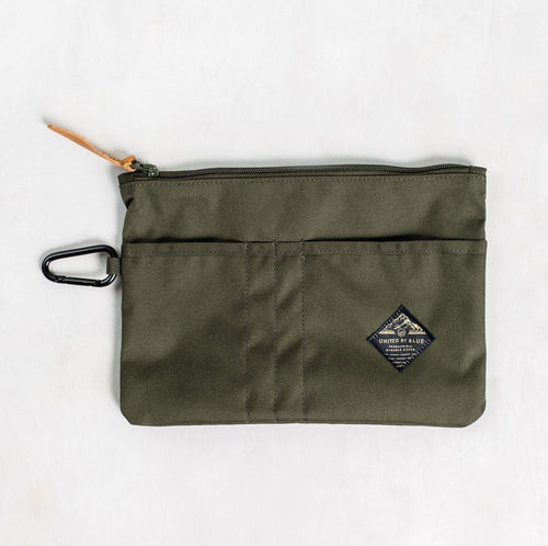 United By Blue Niel Pouch Case Olive - futureproof-life