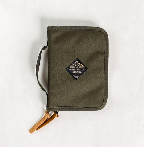 United By Blue Peaks Zip Case Olive - futureproof-life