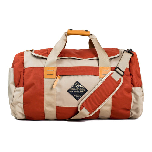 55L Arc Duffle  - Rust/Tan // Futureproof.life