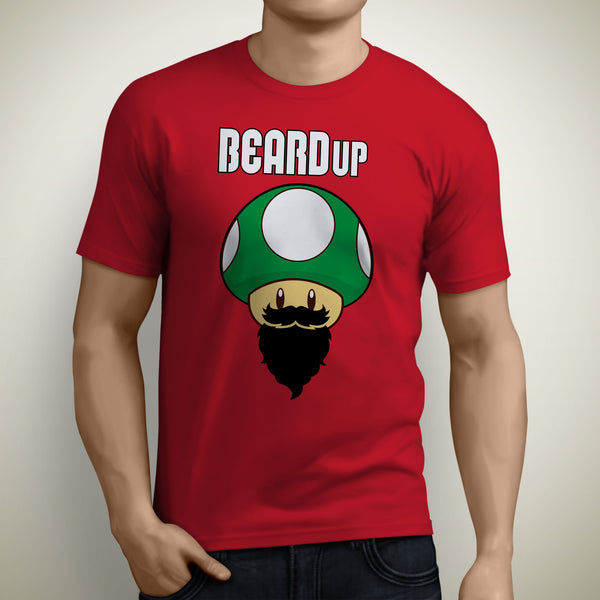 Beard up red