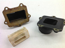 1996 YAMAHA YZ250 YZ 250 REED BLOCK AND INLET MANIFOLD (004)