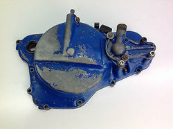 1986 SUZUKI RM 250 SLINGSHOT J106 CLUTCH COVER CASING (1) (SLIGHT DAMAGE) 0027