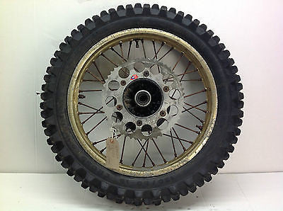1986 HONDA CR500 CR 500 REAR WHEEL (1004)