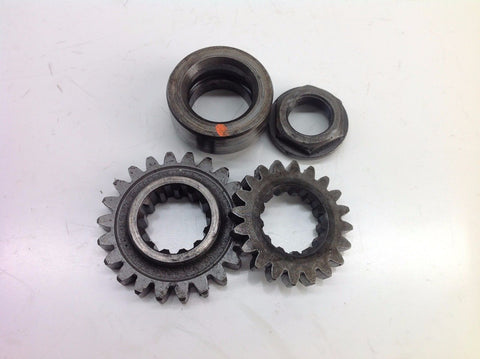 YAMAHA YZ 250 1998 PRIMARY DRIVE CRANK GEARS (1) 0017A