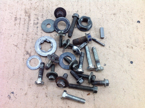 YAMAHA YZ 80 2001 VARIOUS MISC BOLTS ETC 0060A