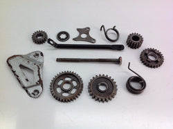 HONDA CR 80 1983 VARIOUS MISC ENGINE PARTS GEARS ETC 0062