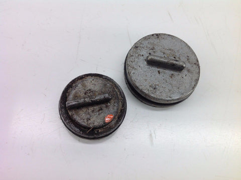 SUZUKI RM 250 1998 POWER VALVE CAPS COVERS (1) 0079A
