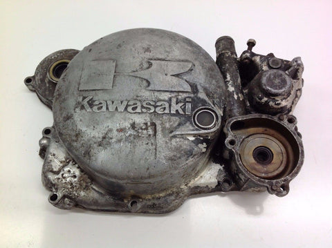 KAWASAKI KX 250 1986 CLUTCH COVER CASING (2) 0037