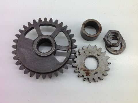 HONDA CRF 250 X 2006 COUNTER BALANCE SHAFT GEARS 0008C