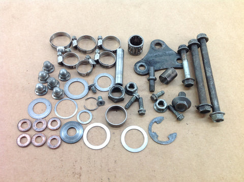 SUZUKI RM 250 2006 VARIOUS MISC NUTS BOLTS & SPACERS 0064B