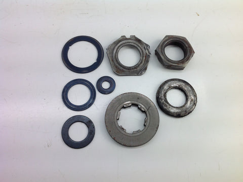 HONDA CR 125 1984 CLUTCH NUTS & SPACERS 0074B