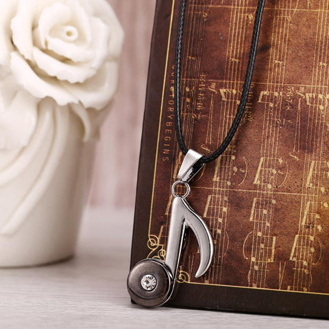 Music Note Pendent