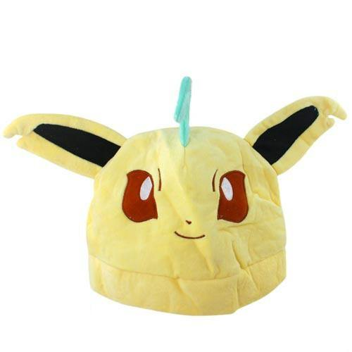 Leafeon Plush Hat