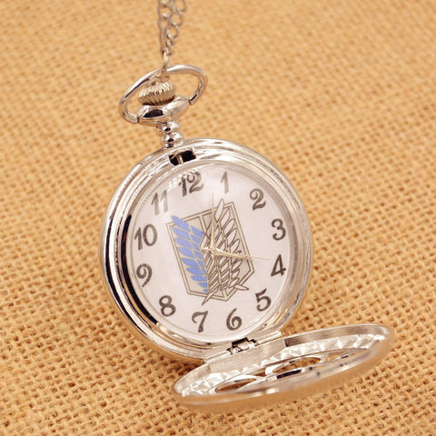 Attack On Titan Pocket Watch