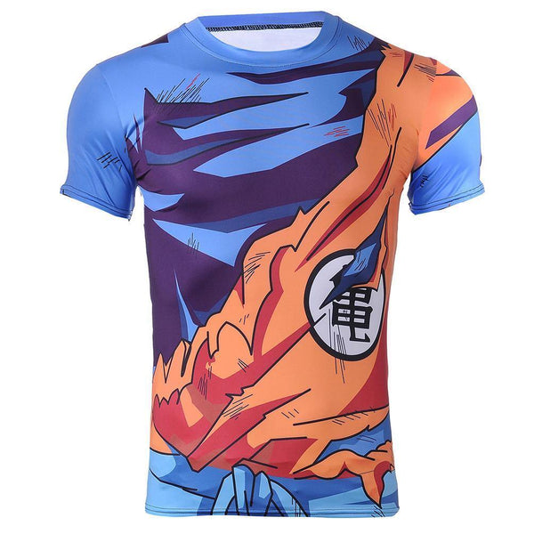 Battle Damaged Goku Gi - Dragon Ball Z Tshirt In India