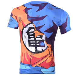 Battle Damaged Goku Gi  tshirt in india cash of delivery