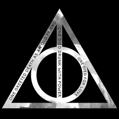Deathly Hallows Harry Potter T-shirt In India