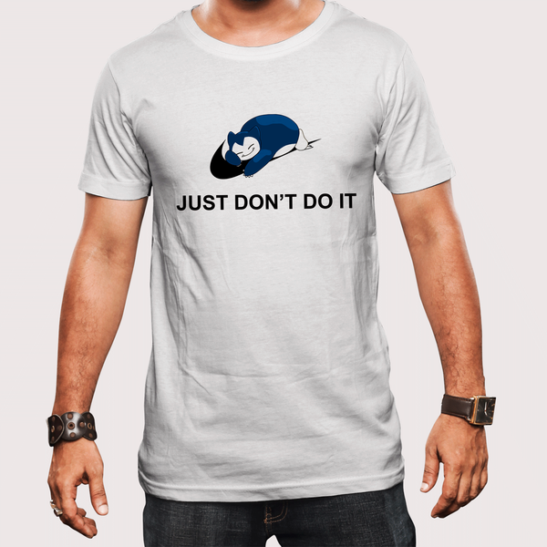 Just Don't Do It Pokemon T-shirt in India