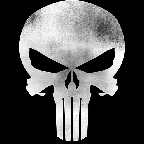 Punisher Logo tshirt in india cash of delivery