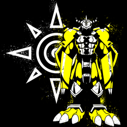 Courage - Digimon T-shirt Tshirt In India